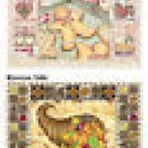 Placemats 6 Christmas Gingerbread Fall 47019 NEW Cookie