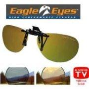Eagle Eyes Navigator Clip Ons sunglasses -- NEW