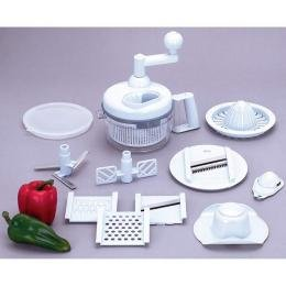 Kitchen Plus 2000� 20pc Hand Operated Food Processor