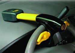 SWAT Portable Steering Wheel Car Lock Alarm w/ Remote