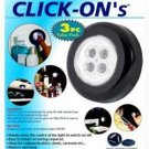 Click Ons Lights - 3 Pack