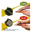 EZ Grasp Peeler and Brush Set