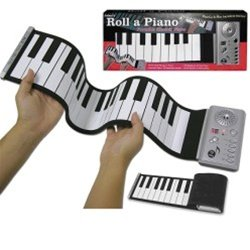 Electric Roll-Up Piano Keyboard