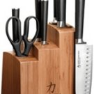 Ginsu Chikara Series 8 Piece Bamboo Block Knife Set