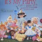 Butterick 5136 Doll Clothes Sewing Pattern for 16 Inch Dolls dated 1990