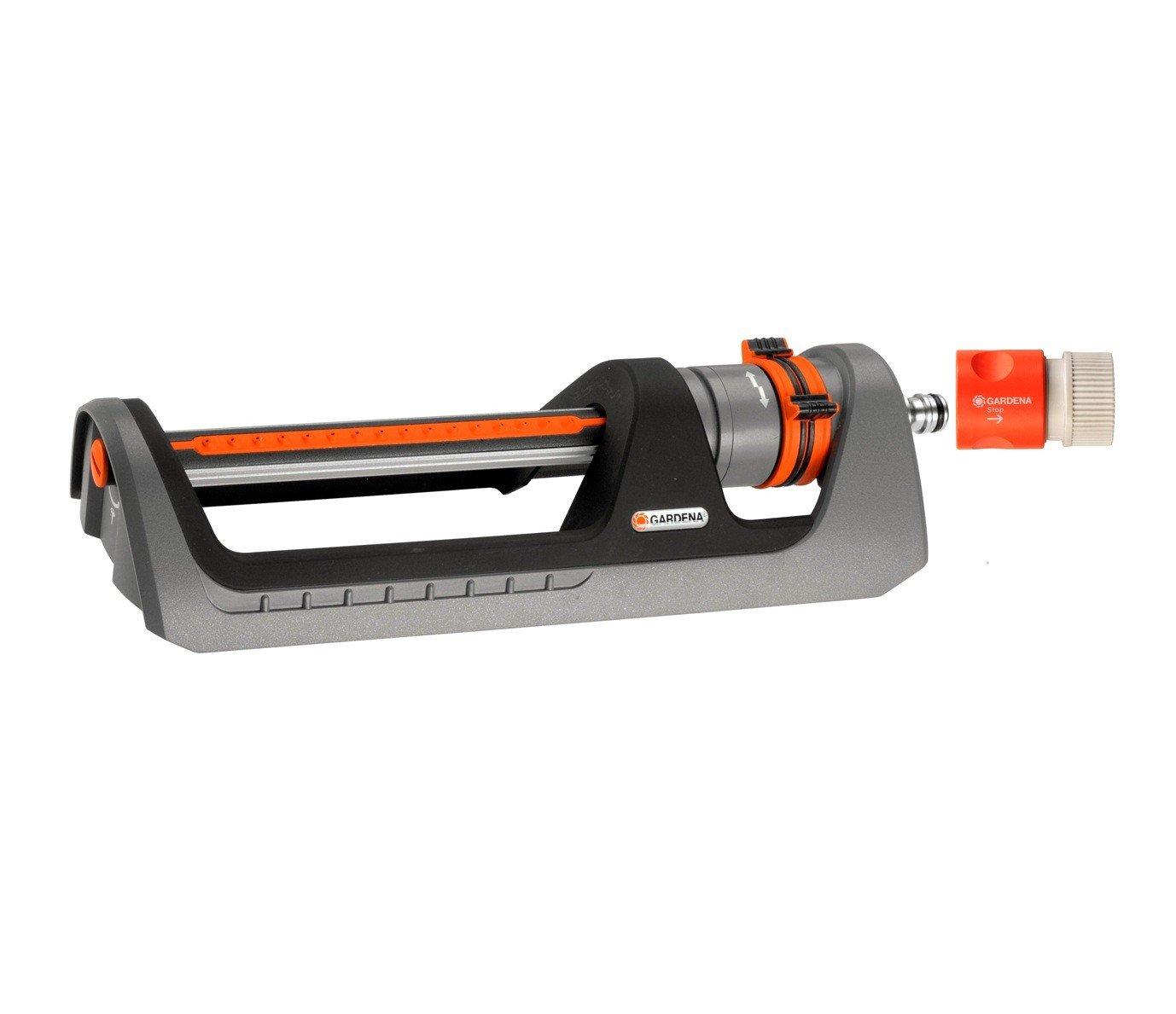 Gardena Premium 2 600 Square Foot Fully Adjustable Oscillating Sprinkler 8151