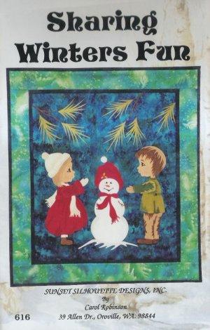 Sharing Winters Fun Quilt Pattern