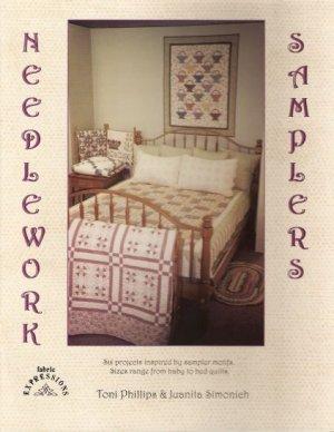 Needlework Samplers Quilt Pattern Book