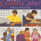 When Quilters Gather Quilt Block Projects Book OOP