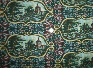 """60"""" Wide Scenic Tapestry Upholstery Fabric"""