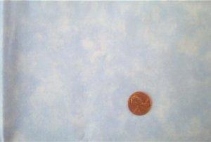 "34"" Mottled Blue Quilt Fabric"