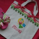 Mermaid Tote and Flip Flop set