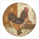 Jaunty Rooster Stepping Stone