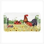 Country Rooster Serving Platter