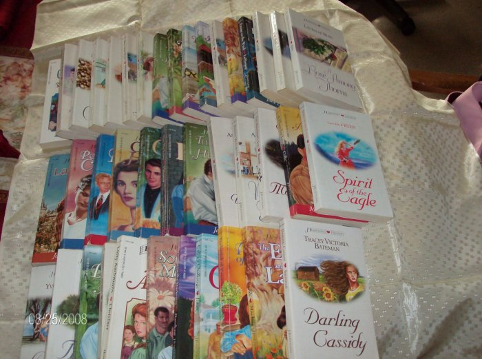 Lot of 40 Heartsong Presents, Christian Romance Books