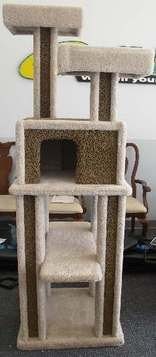 Cat Condo Furniture, Scratching post, Tower, Gym, HUGE AND WELL BUILT