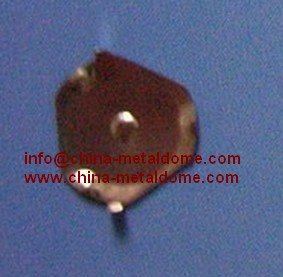 10mm Triangle metal dome