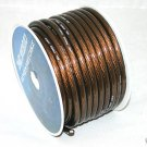 IMC 4 AWG GAUGE 25 FEET BLACK POWER/GROUND AMP WIRE