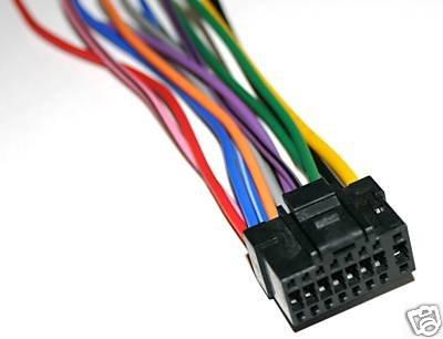 Alpine Power Wire Harness dva-9861 DVA-9860 9860E 16blk