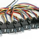 10 PACK 30/40 AMP RELAY  HARNESS SPDT 12V BOSCH STYLE S