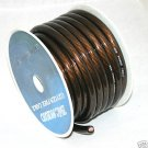 0 GAUGE BLACK POWER WIRE CABLE ROLL  25 FT PC0-25BLk