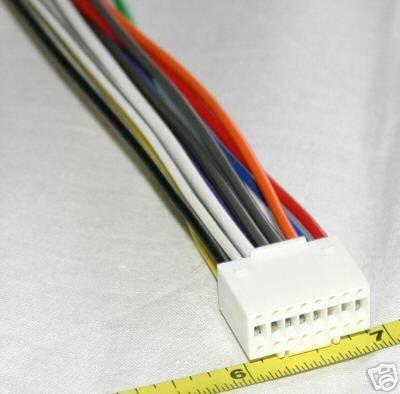 16 PIN Wire Harness ALPINE Stereos Brand NEW 94-06 AL16