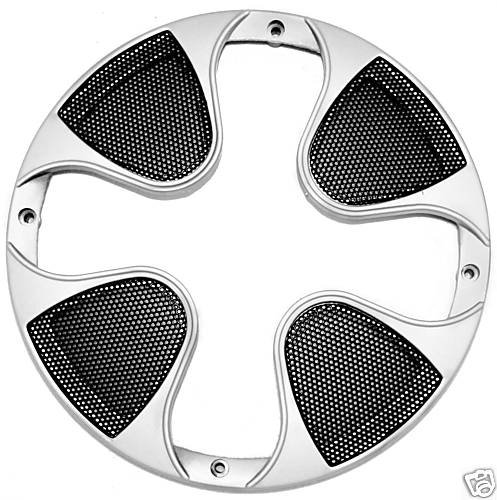 12 INCH SUBWOOFER GRILL SUB WOOFER SPEAKER COVER SILVER