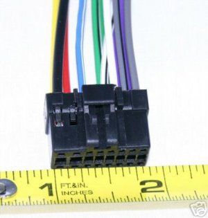 PIONEER DEH p5000ub p5900ib p6000ub WIRE HARNESS NEW-4 on