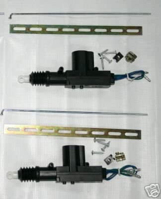 2 POWER DOOR LOCK ACTUATOR TOYOTA COROLLA CAMRY AE86