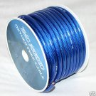 4 GAUGE BLUE POWER WIRE 100 FT NEW  PC04-100BL