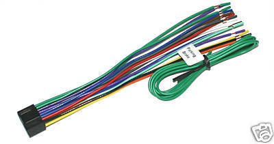 JVC WIRE HARNESS KD-HDR50 KD-HDR30 KD-BT11 JV-03