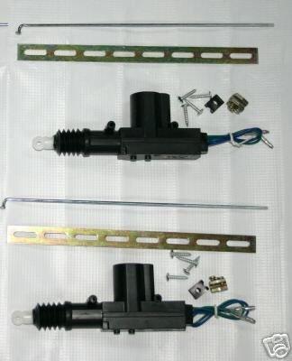 Honda Accord Civic CRX Power Door Lock Actuator Pair