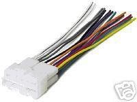 PONTIAC A6000 90-91 RADIO WIRE HARNESS NEW GWH344
