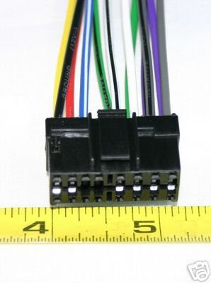 PIONEER DEH 10 1000 11 1100 21 210 2100 WIRE HARNESS 16