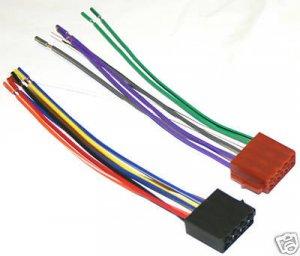 blaupunkt orlando cd72 wire harness new sealed bl 01. Black Bedroom Furniture Sets. Home Design Ideas