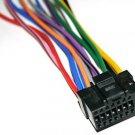 Alpine Power Wire Harness CDE-9870 DVA-9860 9860E 16blk