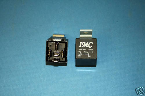 1 12V DC 30A/40A Car Auto Relay SPDT Bosch Style STEEL