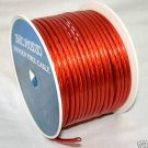 8 GAUGE RED POWER WIRE  200 FT NEW  PC08-200RE