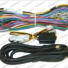 CLARION VRX925VD  VRX935VD COMPLETE SET WIRE HARNESS