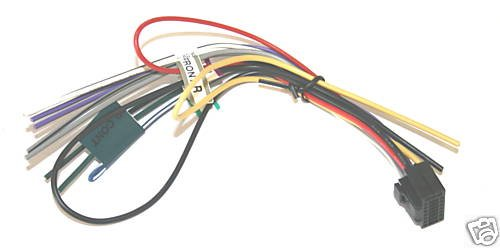KENWOOD WIRE HARNESS KDC215S KDC216S KDC217 4783-05