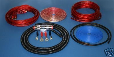 8 GAUGE RED POWER WIRE AMP KIT COPPER IMC702RE