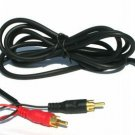 RCA Y GOLD  CABLE IPOD 3.5MM STEREO TO RCA MP3 PC 6 FT