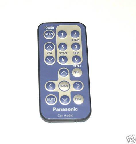 Panasonic Remote Control CQ-DF801U CQDF801U YEFX9992499