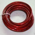 20 FT feet 4 GAUGE RED POWER WIRE LOW RESISTANCE