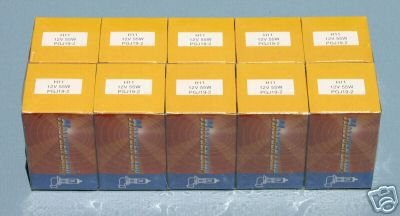 SUPER BRIGHT 10 PACK HALOGEN H11 H-11 55W HEADLIGHTS