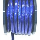0 GAUGE BLUE POWER WIRE SUPERFAT per ft 100%COPPER IMC