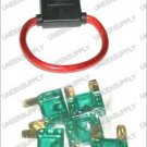 FUSE HOLDER WITH MAXI 5 60 AMP FUSES  8 GAUGE