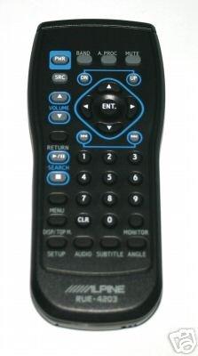 Alpine Remote  IVA-W505 IVA-D310 IVA-W203 RUE-4203