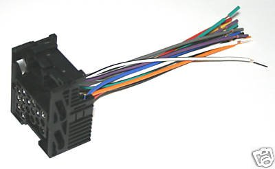 1999 BMW 318 OEM STEREO WIRE HARNESS NEW BWH470 21