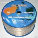 14 GAUGE SPEAKER CABLE 500 ft ROLL NEW EXTREME  14-500A